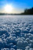 Zimní slunce. — Stock fotografie