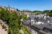 Luxembourg Panorama — Stock Photo