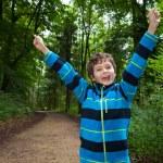 Teenage boy being very happy — Stock Photo #31049009
