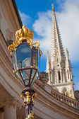 Detail of the Place Stanislas in Nancy — Stock Photo