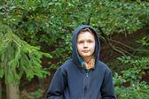 Charming Teenage Boy — Stock Photo