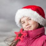 Cute Christmas girl — Stock Photo #34763971