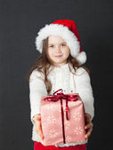 Cute Christmas Girl — Stock Photo