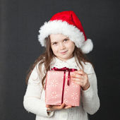 Cute Christmas Girl — Stockfoto