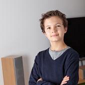 Dospívající chlapec — Stock fotografie