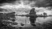 Rock formation on Gotland — Stock Photo