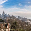Skyline of Seattle in daylight — Stock Photo #39820537