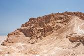 Roman Ramp at Masada in Israel — Foto Stock