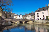 Sunny day in Luxembourg — Stock Photo