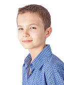 Portrait of a teenage boy — Stock Photo
