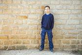 Cool confident boy — Stock Photo