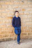 Cool confident boy — Stock fotografie