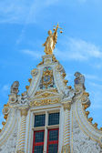 Lady of justice in Bruges — Stock Photo