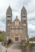 Parish Church in Clervaux — Foto Stock