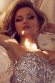 Princess in luxury — Stock Photo