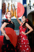 Spanish dancers — Stock Photo