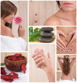 Relax and spa beauty composition — Stock Photo