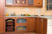 Rustic or country style kitchen — Стоковое фото