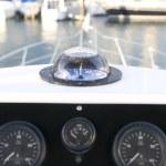 Yacht compass — Stock Photo