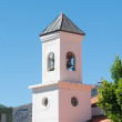 Bell tower in a church — Stock Photo