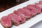 Chateaubriand or tenderloin steak — Stock Photo