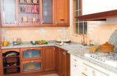 Rustical or country style kitchen — Stock Photo