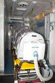 Medical equipment for ebola or virus pandemic — Stock Photo