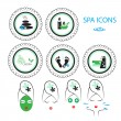 Spa icons set — Stock Vector #34747541
