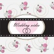 Wedding video background — Stock Vector #41689389