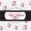 Wedding photography background — Stock Vector #41689437