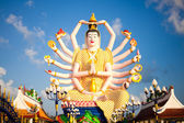 Kuan Yin image of buddha thailand — Stock Photo