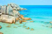 Tropical beach - thailand, koh samui — Stock Photo