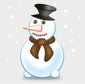Sněhulák — Stock vektor