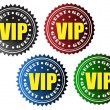 VIP guest badges — Stock Vector