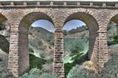 Modern aqueduct — Stock Photo