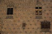 Casa de las Conchas wall — Stock Photo