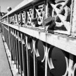 Bridge Sanchez Fabres locks — Stock Photo #31836009