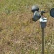 Stock Photo: Anemometer on ground
