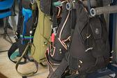 Paraşüt paketleri — Stok fotoğraf