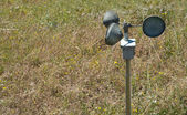 Anemometer on the ground — Stock Photo