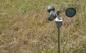 Anemometer on the ground — Stock Photo