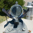 Stock Photo: Sunshine recorder detail