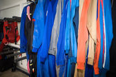 Skydive jumpsuits — Stock Photo