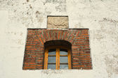Town hall window — Stock Photo