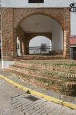 Feria Town hall porch — Stock Photo