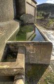 Green basin — Stock Photo