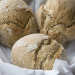 Crusty bread rolls — Stock Photo