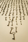 Rusty keys — Stock Photo