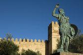Statue of Ibn Marwan 6. Founder of Badajoz — Stock Photo