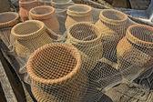 Vaso pesce medievale — Foto Stock